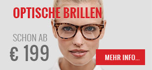 Optische Brillen schon ab 99 €